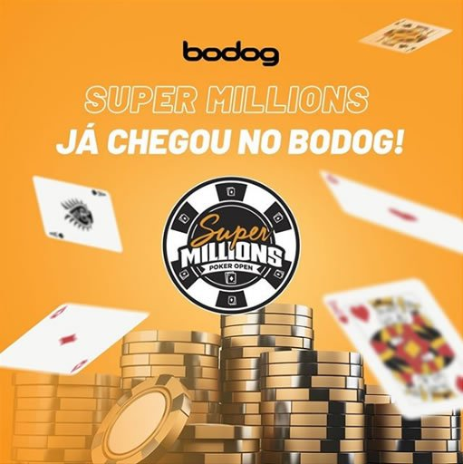 foto do super million tirada do instagram do bodog