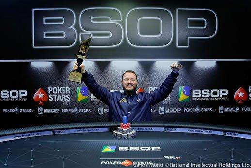 foto de Régis Kogler é o Grande Campeão do BSOP Gramado | Parabéns!