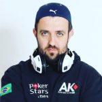 foto do jogador de poker André Akkari