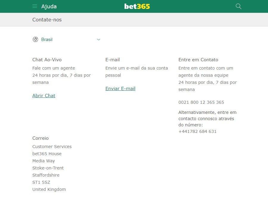 foto Como é o Atendimento ao cliente na bet365 poker para o Público Brasileiro