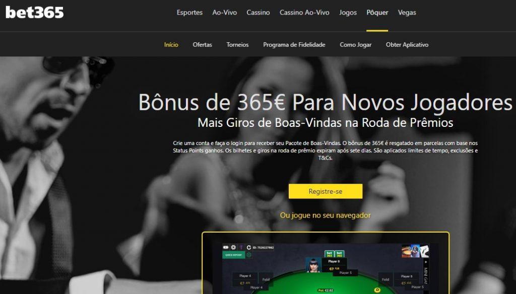 foto Destaques da Bet365 é confiavel no Poker?