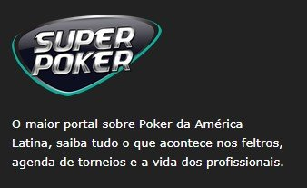 foto do site superpoker.com.br