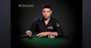 ronaldo jogando poker